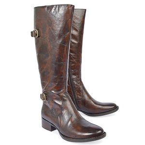 Born Cort Leather Knee High Boot